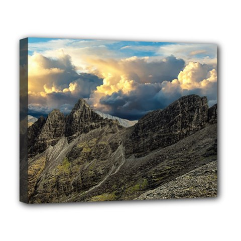Landscape Clouds Scenic Scenery Deluxe Canvas 20  X 16
