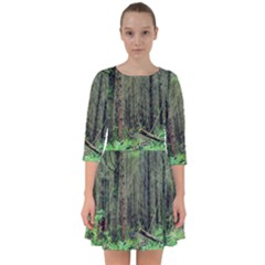Forest Woods Nature Landscape Tree Smock Dress