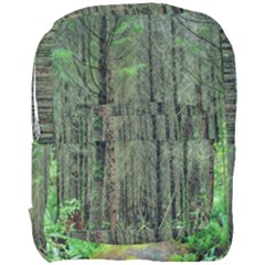 Forest Woods Nature Landscape Tree Full Print Backpack