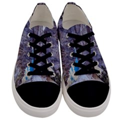 Rock Sky Nature Landscape Stone Men s Low Top Canvas Sneakers