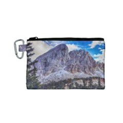 Rock Sky Nature Landscape Stone Canvas Cosmetic Bag (small)