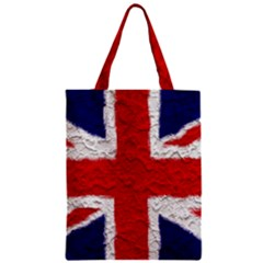 Union Jack Flag National Country Zipper Classic Tote Bag by Celenk