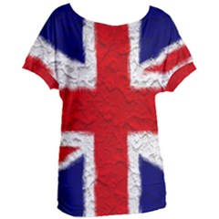 Union Jack Flag National Country Women s Oversized Tee