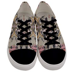 Vintage Birds Men s Low Top Canvas Sneakers