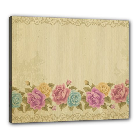 Shabby Country Canvas 24  X 20  by 8fugoso