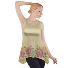 Shabby Country Side Drop Tank Tunic by 8fugoso