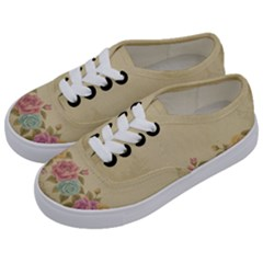Shabby Country Kids  Classic Low Top Sneakers by 8fugoso