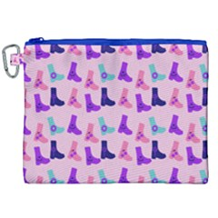 Candy Boots Canvas Cosmetic Bag (xxl) by snowwhitegirl