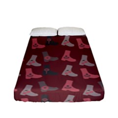Rosegrey Boots Fitted Sheet (full/ Double Size) by snowwhitegirl