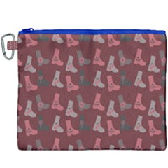 Rosegrey Boots Canvas Cosmetic Bag (xxxl)