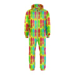Colorful Robots Hooded Jumpsuit (kids)