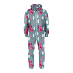 Pink Dress Blue Hooded Jumpsuit (kids)