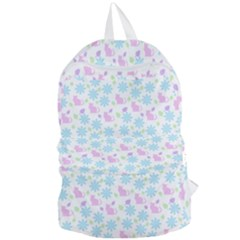 Cats And Flowers Foldable Lightweight Backpack by snowwhitegirl