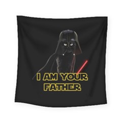 Darth Vader Cat Square Tapestry (small)
