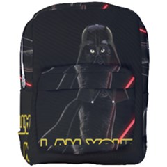 Darth Vader Cat Full Print Backpack by Valentinaart