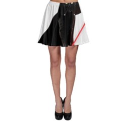 Darth Vader Cat Skater Skirt