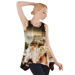Dollhouse Christmas Side Drop Tank Tunic by snowwhitegirl
