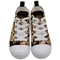 Dollhouse Christmas Kid s Mid Top Canvas Sneakers