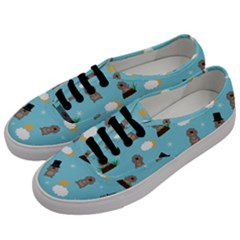Groundhog Day Pattern Men s Classic Low Top Sneakers by Valentinaart