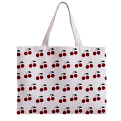 Cherries Zipper Mini Tote Bag by snowwhitegirl