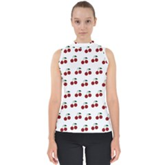 Cherries Shell Top