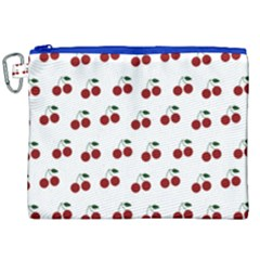 Cherries Canvas Cosmetic Bag (xxl) by snowwhitegirl