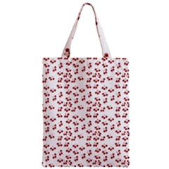 Red Cherries Zipper Classic Tote Bag by snowwhitegirl