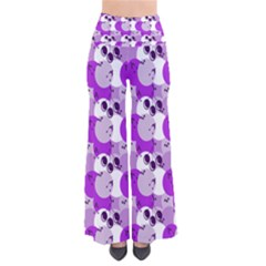 Purple Cherry Dots Pants by snowwhitegirl