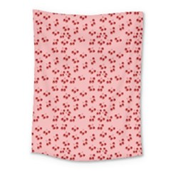 Rose Cherries Medium Tapestry