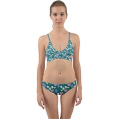 Ocean Cherry Wrap Around Bikini Set by snowwhitegirl