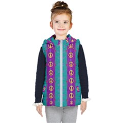 Peace Be With Us This Wonderful Year In True Love Kid s Puffer Vest