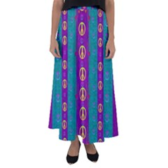 Peace Be With Us This Wonderful Year In True Love Flared Maxi Skirt