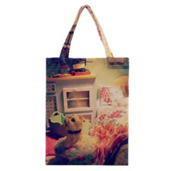 Cream Dollhouse Classic Tote Bag
