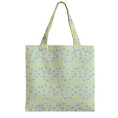 Minty Hats Grocery Tote Bag