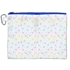 Pastel Hats Canvas Cosmetic Bag (xxl) by snowwhitegirl