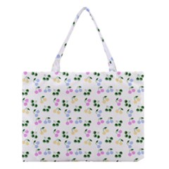 Green Cherries Medium Tote Bag