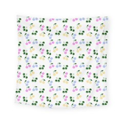 Green Cherries Square Tapestry (small) by snowwhitegirl
