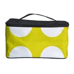 Big Dot Yellow Cosmetic Storage Case