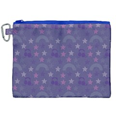 Music Stars Blue Canvas Cosmetic Bag (xxl) by snowwhitegirl