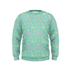 Music Stars Seafoam Kids  Sweatshirt