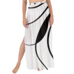Womans Face Line Maxi Chiffon Tie Up Sarong