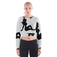 Girls Of Fitness Cropped Sweatshirt