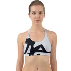 Girls Of Fitness Back Web Sports Bra