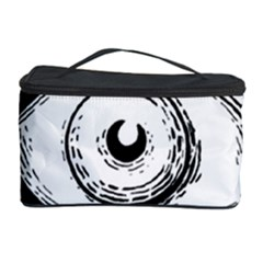Big Eye Monster Cosmetic Storage Case by AnjaniArt