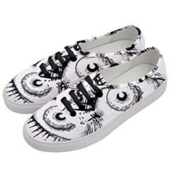 Big Eye Monster Women s Classic Low Top Sneakers by AnjaniArt