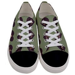 Cupcake Green Women s Low Top Canvas Sneakers