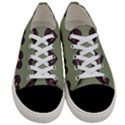 Cupcake Green Women s Low Top Canvas Sneakers View1
