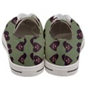 Cupcake Green Women s Low Top Canvas Sneakers View4