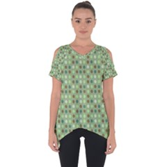 Green Brown  Eggs On Green Cut Out Side Drop Tee by snowwhitegirl