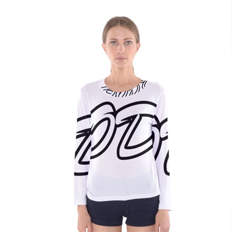 Code White Women s Long Sleeve Tee by Code